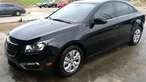 2015 Chevy Cruze Turbo  LT Auto