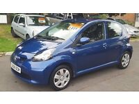 2008 TOYOTA AYGO BLUE MM VVT-I 1.0L PETROL AUTOMATIC!! ++PREVIOUS LADY OWNER++FULL SERVICE HISTORY++