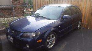 2003 Mazda Protege Hatchback for sale! Must go!