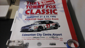 The Tommy Fox Classic Cascar Event 1996 Poster