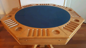 Poker Table, Bumper Pool Table, Dining Table