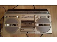 Fab large cassette radio player... suitable for workman outside or garage etc