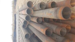 4.5 inch & 5.5 inch used Carbon Steel Pipe, Piling, Fence Post