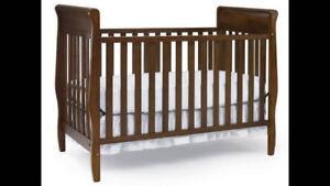 Graco Convertible Classic Crib Cherry