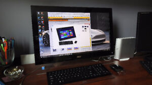 Acer Aspire AU5-610-UB12 All-in-One PC Like New