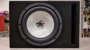 "10"" Kenwood Excelon Sub in Ported Box"