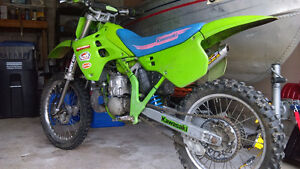 Clean and extremely fast KX250