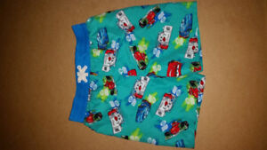 SIZE 3 LIGHTNING MCQUEEN SWIM TRUNKS