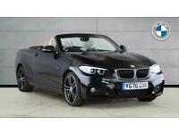 2020 BMW 2 Series 218d M Sport 2dr [Nav] Step Auto Diesel Convertible Convertibl