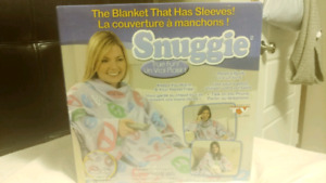 adult one size fits all peace and love snuggie factory sealed