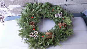 Christmas wreath - real pine