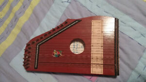 Vintage zither for sale.