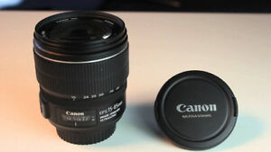 CANON EFs 15 85 IS USM zoom lens