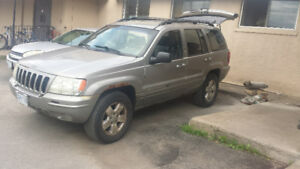 2001 jeep grand Cherokee v8 fully loaded