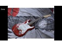 Short reach electric guitar and amp ( ideal xmas gift)