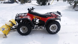 Arctic cat  300 4x4 with plow
