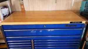 Snap on wooden top KRWT7002A for  KRL7022 roll cab