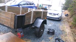 Utility trailer 4x7