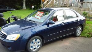 2006 Kia Spectra Sedan