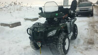 VTT  2014 Arctic Cat 400 4x4