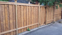 Professional Wood Fence REPAIRS + NEW INSTALL