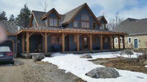 BLUE MTN-EXEC CHALET-RAVINE-WALK TO BEACH-TRAILS-BIKE-TENNIS