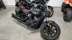 2018 Indian Scout Bobber - $125 Bi-Weekly!