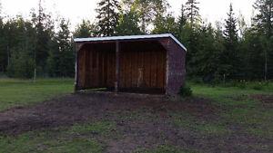 Pasture/ tack shed/ horse shelter for rent