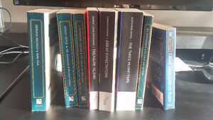 Classic book collection. 8 books total. Great condition.