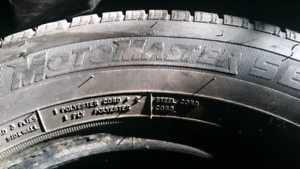 Pair of good 195/70R14 Motomaster (Canadian Tire) tires. $100