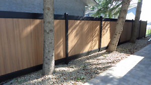 VINYL and Recycled Vinyl FENCE - NEVER PAINT AGAIN