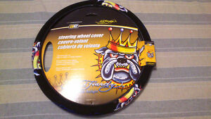 Couvre-volant Ed Hardy Bulldog Steering Wheel Cover