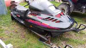 1995 skidoo 780cc  NO ENGINE