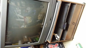 """Toshiba 32"""" TV with remote and stand"""