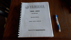 manual yamaha 1999-2000