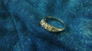 18K white gold wedding ring  Newmarket