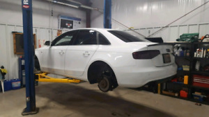 Tire rotation and winter/spring swap/ brake work