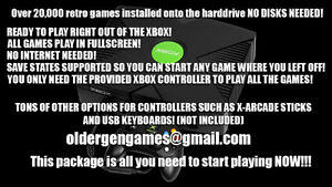 Modded Xbox CoinOps8 20,000+ RETRO games!!! with new PREMIUM!
