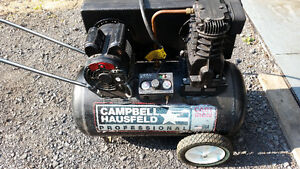 Air Compressor Campbell-Hausfeld 20 Gal. 4 HP.