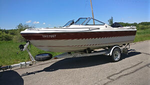 16.5 ft Falcon Powerboats with 150hp Mercury BlackMax