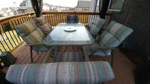 7 piece patio set - get ready for summer