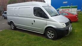 LDV Maxus LWB 07 Reg in Silver 1 owner from new