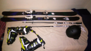 FULL SKI EQUIPMENT BRAND NEW (SKIS ARE LAST YEARS MODEL)