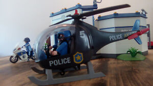 Quartier police playmobil