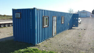 40ft Portable Office Shipping Container only $14,950! / $30k new