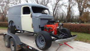 classic 1939 chevy 1/2 ton panel truck delivery wagon very rare