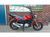 Lexmoto ZSX125 125cc Commuter Red MOTORCYCLE MOTORBIKE UK LEXMOTO DEALER
