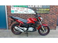 Lexmoto ZSX125 125cc Commuter Red MOTORCYCLE MOTORBIKE UK LEXMOTO DEALER