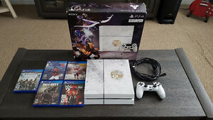 Limited Edition PS4/1TB hard drive - Destiny Edition and 5 games