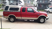 2000 Ford F-150 XLT 7700 Supercab w/ 2-Door Topper - plow rated